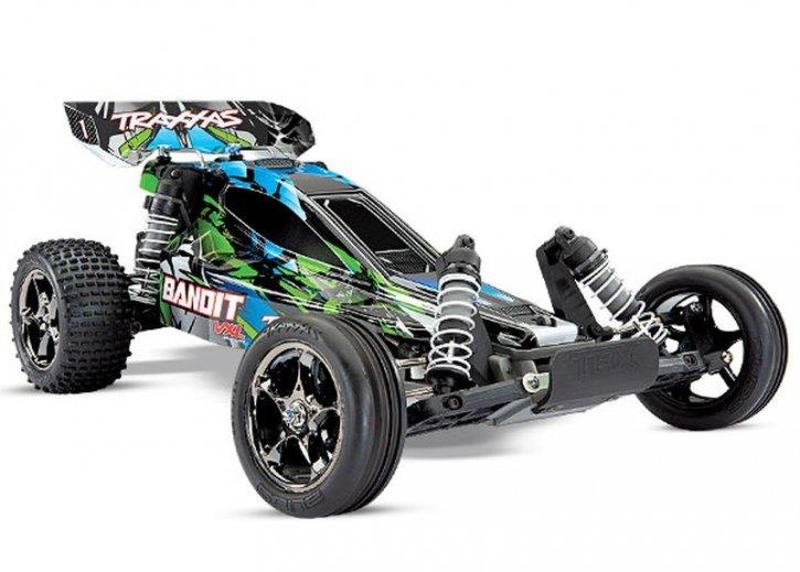 TRAXXAS Bandit 2WD VXL grün BL 2.4GHz