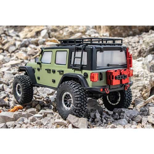 "Absima 1:10 EP Crawler CR3.4 ""SHERPA"" OLIVE RTR"