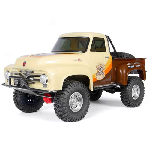 Axial SCX10 II 1955 Ford F-100 Truck 4WD RTR, Brown