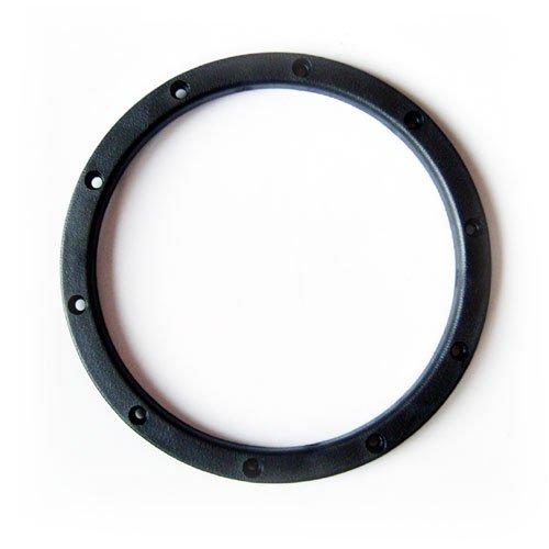 Silverback RC äußere Beadlock Ringe flach - gun metal
