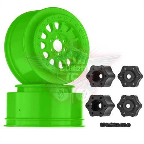 "Axial 2.2""-3.0"" Method 105 Wheel 41mm Green (2)"