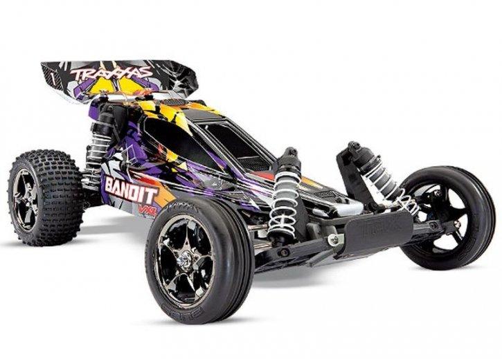 TRAXXAS Bandit 2WD VXL BL 2.4GHz purple/violett