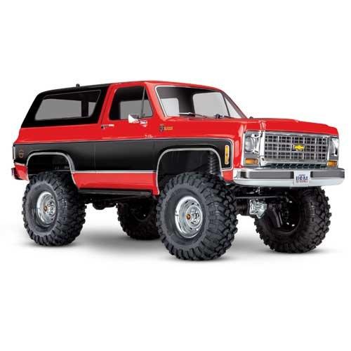 TRAXXAS TRX-4 Chevy Blazer 4x4 rot ohne Akku/Lader