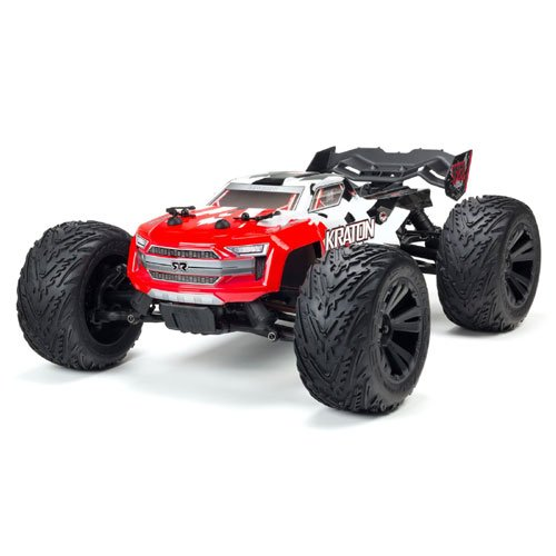 1/10 KRATON 4x4 4S BLX Brushless Truck RTR, Red