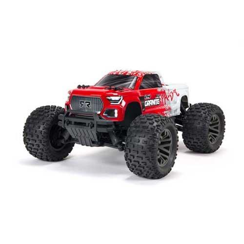 GRANITE 4X4 3S BLX Brushless Monster Truck RED