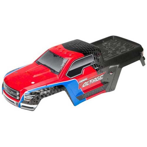 AR402196 Body Pntd/Decaled GRANITE VOLTAGE Red/Blk