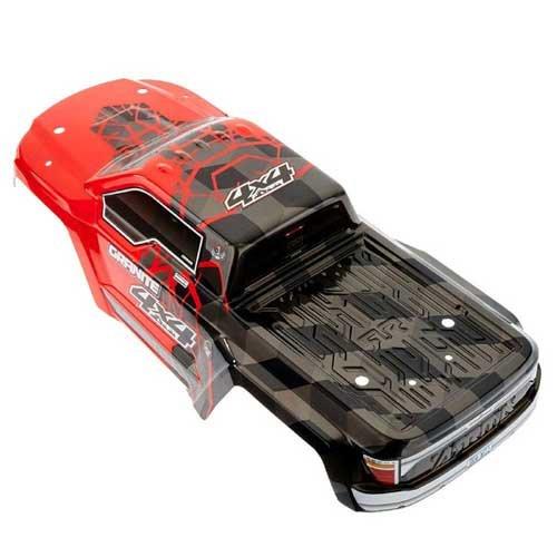 AR402256 Body Pntd Decal Trim Red GRANITE 4x4 MEGA