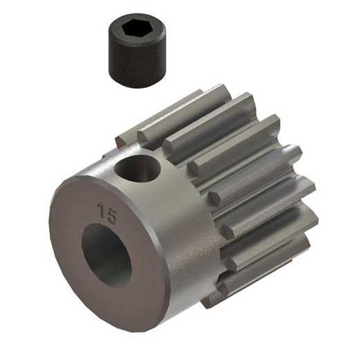 Arrma Pinion Gear 15T 0.8mod: 4x4 ARAC7875