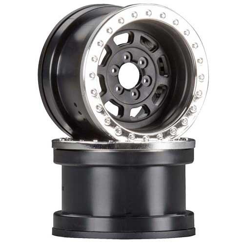 "2.2"" IFD-Beadlock-Felge HD Serie 3-teilig, schwarz-chrom (2)"