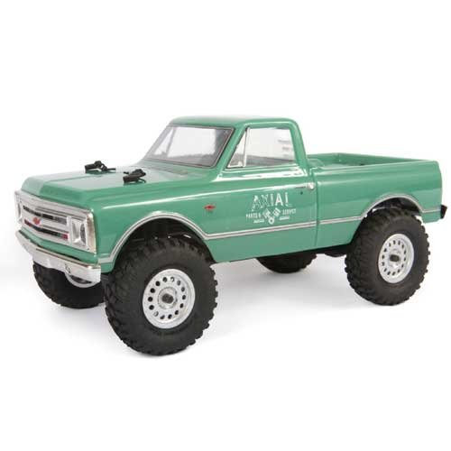 Axial SCX24 1967 Chevrolet C10 1/24 4WD-RTR, White