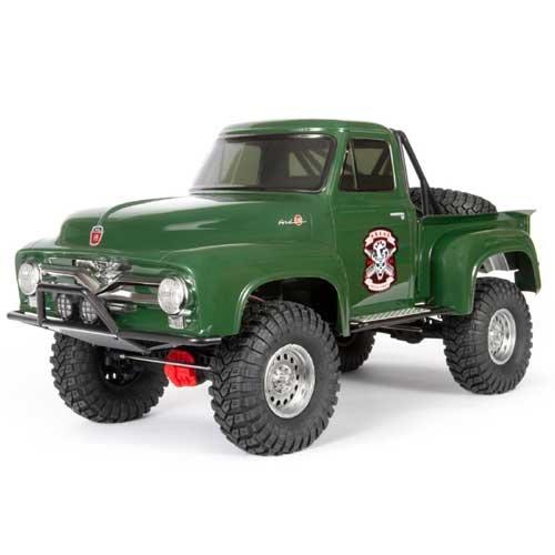 Axial 1/10 SCX10 II 1955 Ford F-100 Truck 4WD RTR, Green