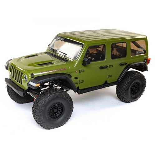 1/6 SCX6 Jeep JLU Wrangler 4WD Rock Crawler RTR