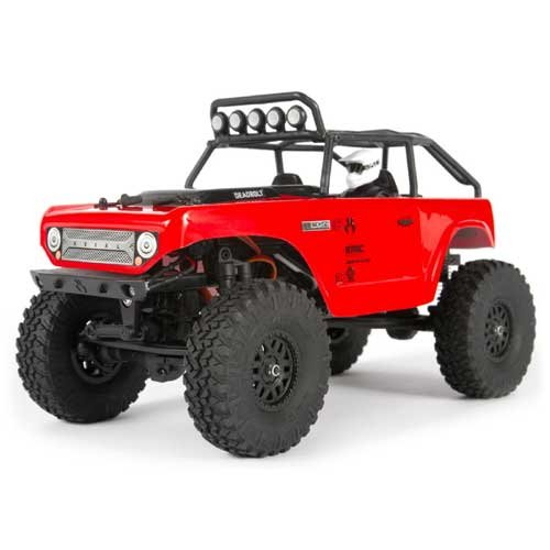 Axial SCX24 Deadbolt 1/24 Scale 4WD - rot