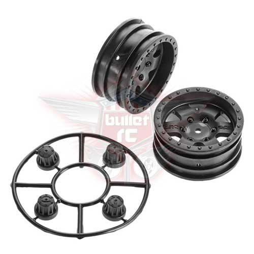 Axial AX31094 1.9 Black Rock CRC Wheels (2)