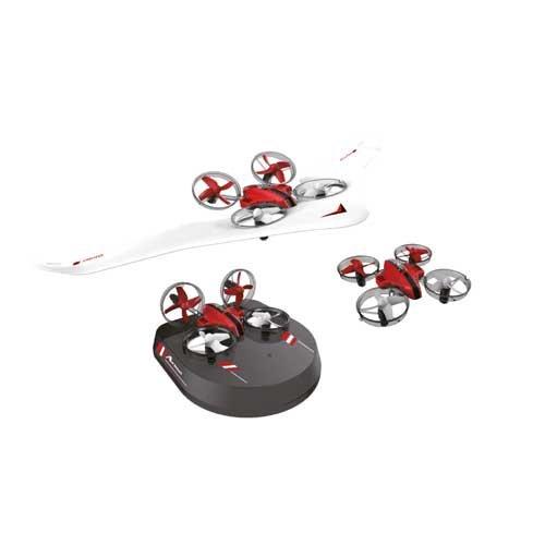 Amewi Air Genius Drohne, Luftkissenfahrzeug, Gleiter