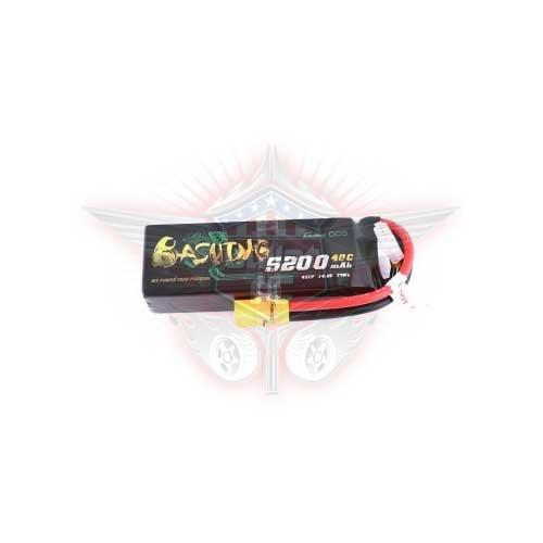 Gens ace 14.8V 5200mAh 4S1P 40C Lipo Bashing Series