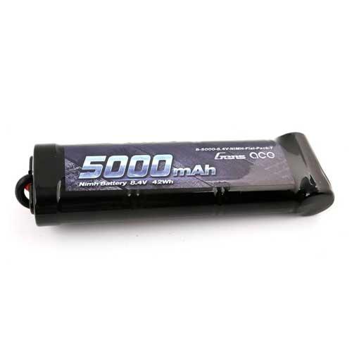 Gens ace 5000mAh 8.4V 7-Zellen NiMH Akku Batterie