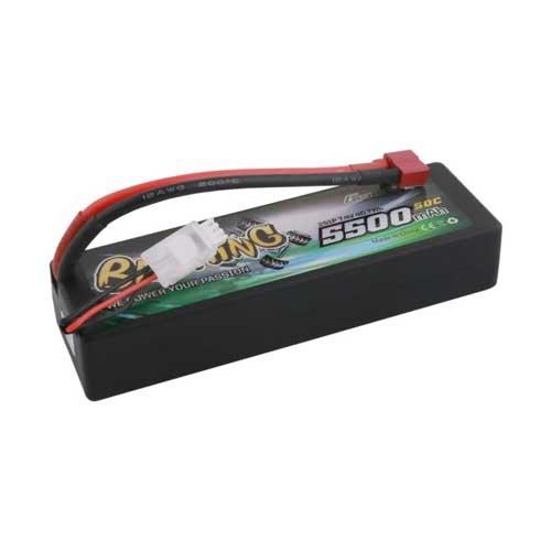 Gens ace 5500mAh 7.4V 50C Lipo HC 24# Bashing Series