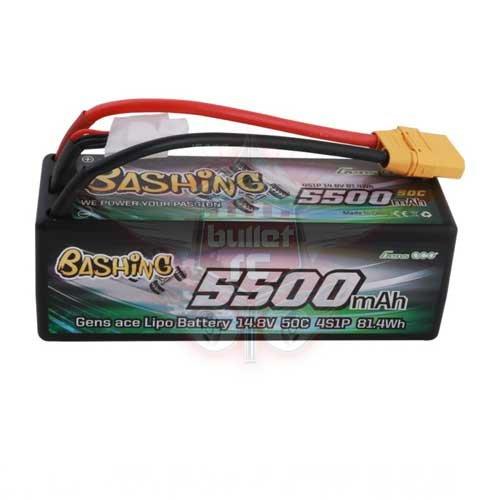 Gens ace bashing Serie 5500mAh 11.1V 50C 3S1P Hardcase 15 # Akku