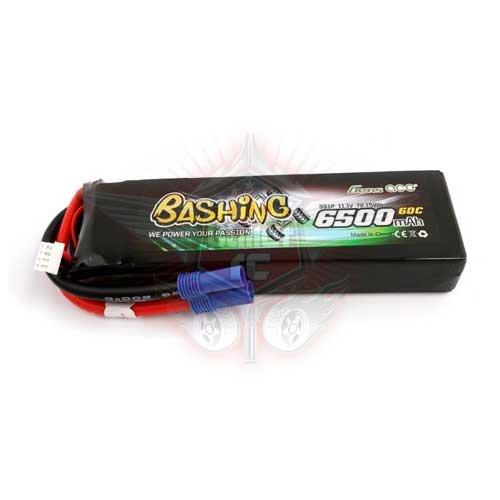 Gens ace 6500mAh 11.1V 60C 3S1P Lipo Bashing Series