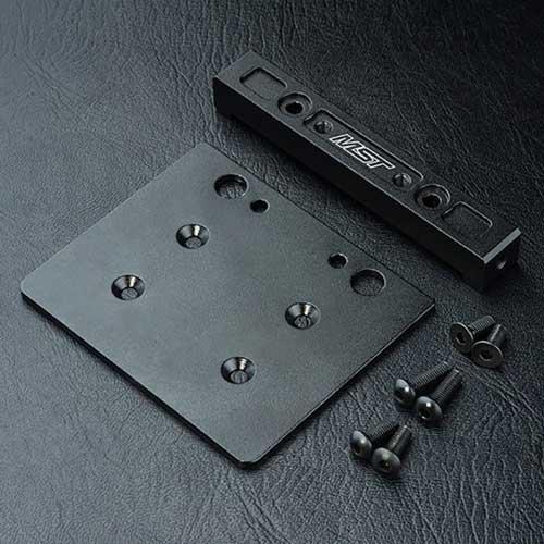 MST Querverbinder C Aluminium schwarz CMX