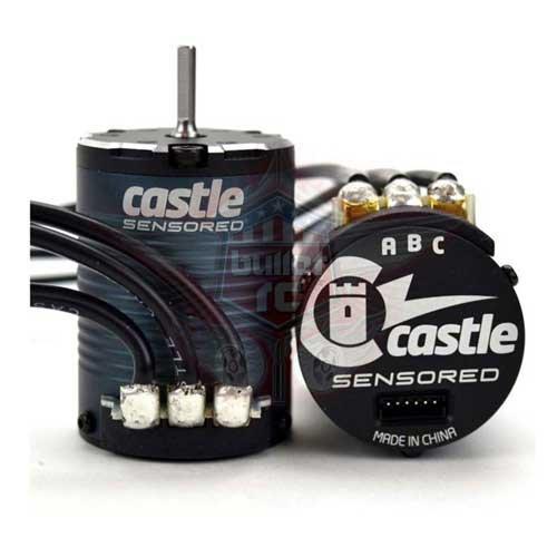 Castle Creations 4-Pole Sensored BL Motor 1406-2850Kv