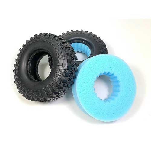 Absima Crawler Reifen Extra Soft Rebound-Schaumeinlage