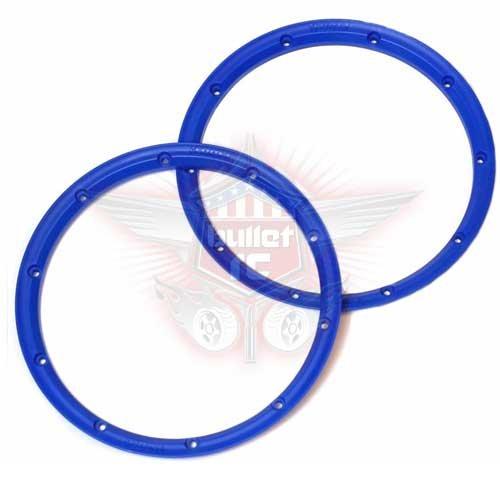 "DDM Racing Innere ""Bite-Lock"" Beadlock Ringe blau"