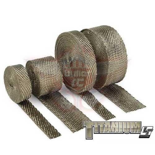 DEI Auspuff Hitzeband - 2,5 x 500cm Titanium