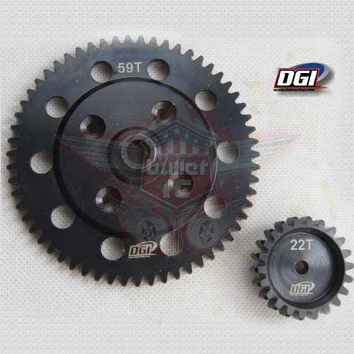DGI Racing großes Getriebe Set für Losi DBXL - 22/59