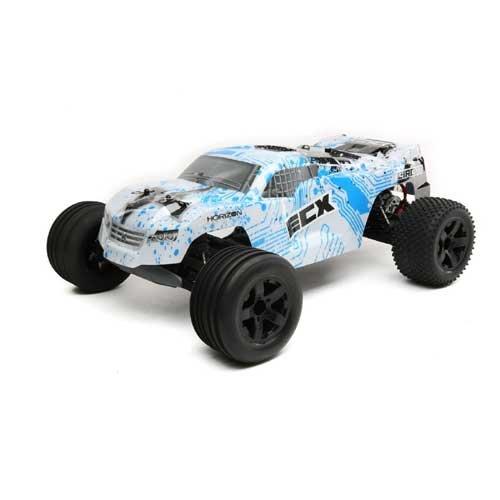 ECX 1/10 Circuit 2WD Stadium Truck Brushed Weiß/Blau