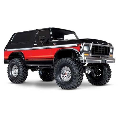 TRAXXAS TRX-4 Ford Bronco schwarz/rot 4x4 RTR