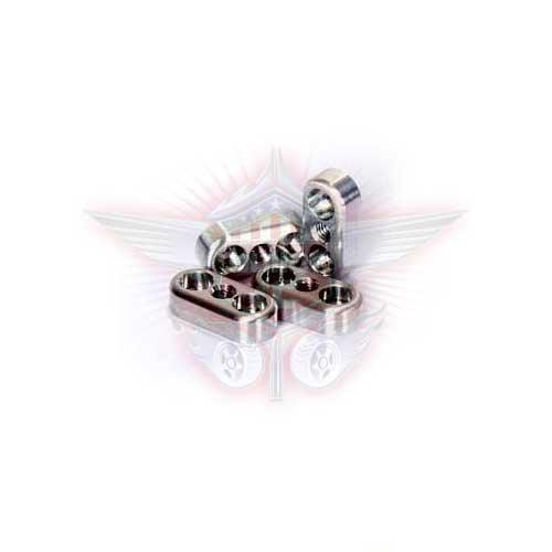 FullForce RC Losi 5IVE-T Aluminum Domstreben Klemmen (4Stk)