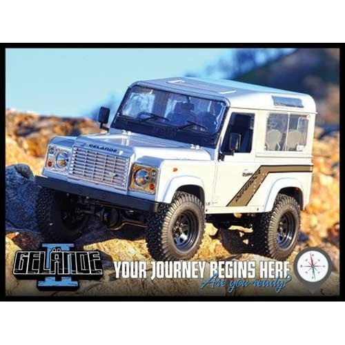 Gelande II Truck Kit w/Defender D90 Body Set RC4WD