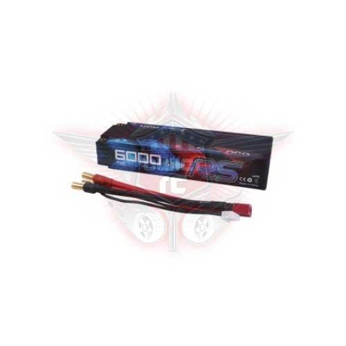Gens ace 6000mAh 7.4V 70C HardCase Lipo Pack 47#