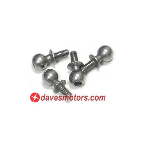 Ball End Screw Set 6.8x16mm - HPI86407