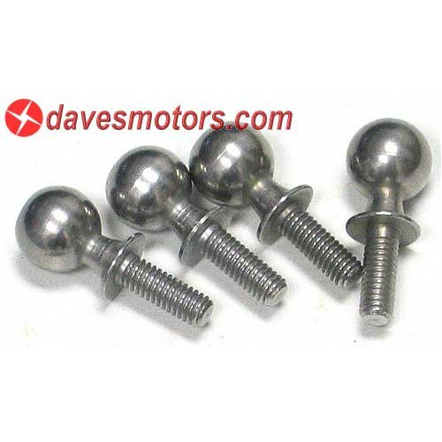 Ball End Screw Set 10x25mm - HPI86411