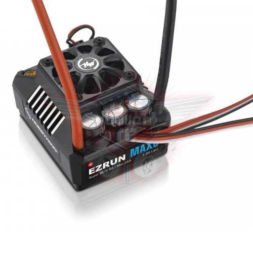 Ezrun MAX8 TRX Regler Sensorless 150A 3-6s LiPo BEC 6A