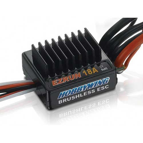 Ezrun SL18 Regler Sensorless 18 Ampere, 2-3s