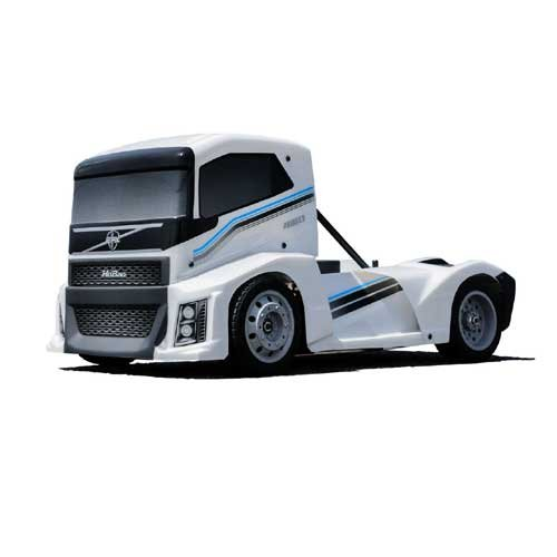 Hobao Hyper EPX Semi Truck On-Road ARR Perl Weiß
