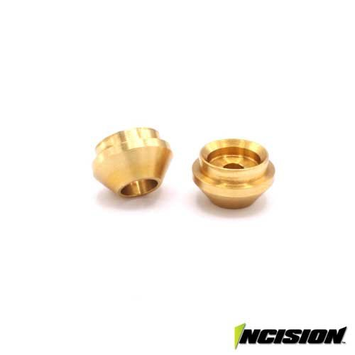 Incision Brass Lower Spring Cup für Incision Dämpfer