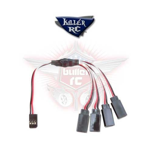 Killer RC 4-Wege Splitter Kabel