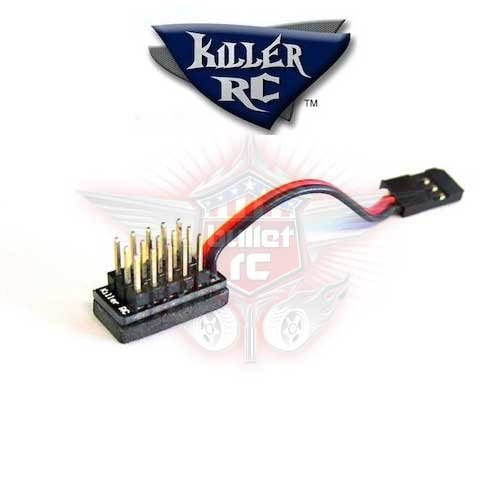 Killer RC 5-Wege Micro Splitter - kurzes Kabel