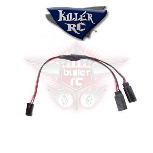 Killer RC Y-Kabel für JR/Futaba/Hitec Servos
