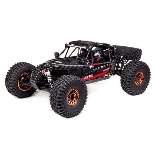 Losi Lasernut U4 Black, SMART ESC: 1/10 4WD RTR
