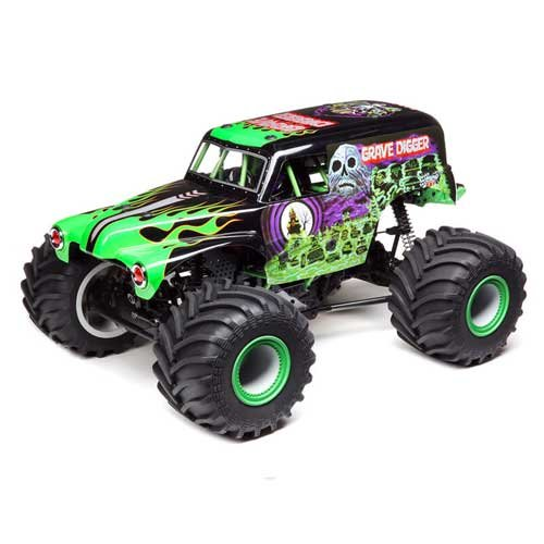 Losi LMT 4WD Grave Digger RTR Grün