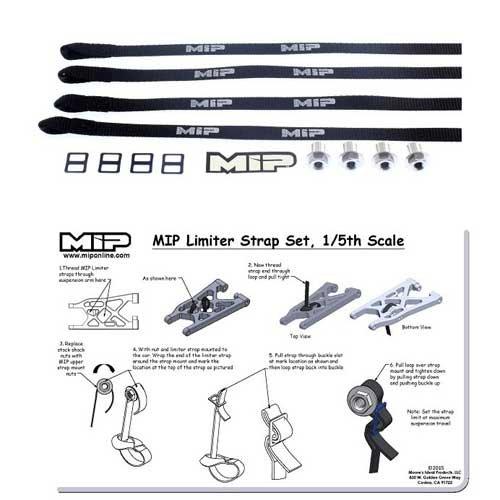 MIP Limiter Strap Set für 1/5 RC Grossmodelle