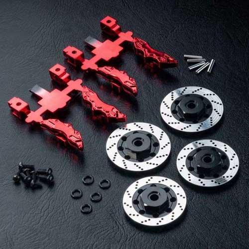 MST Bremsscheiben Aluminium mit Zubehör MST210143