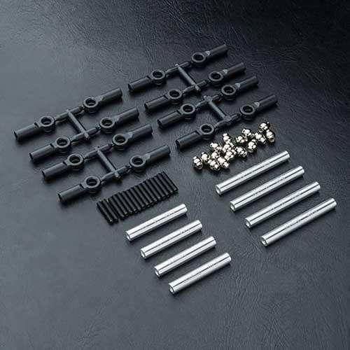 MST Verbindungsstange Set Alu silber 242mm CMX