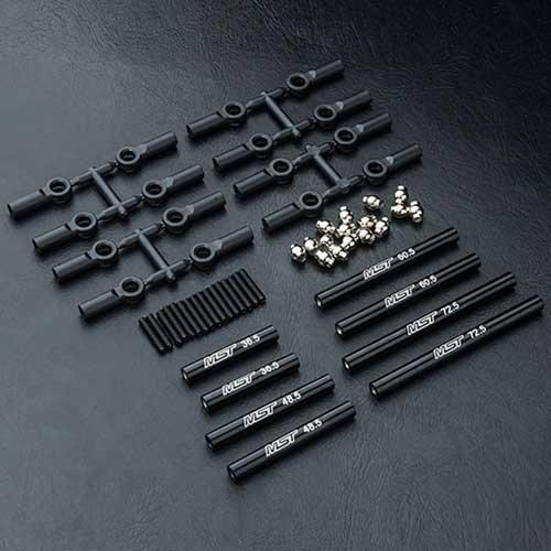 MST Racing CMX Verbindungsstange Set Alu schwarz
